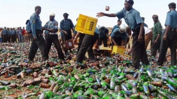 Hisbah confiscates 8,400 bottles of beers in Kano