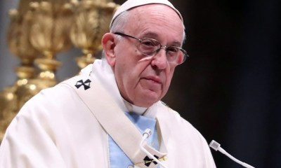 Pope prays for Goma citizens threatened by volcano in eastern DR Congo