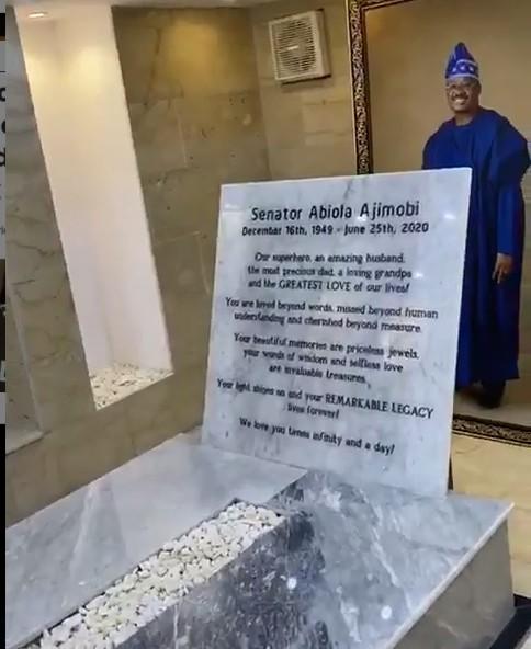 Osinbajo, Aregbesola, family, celebrate Ajimobi's legacy
