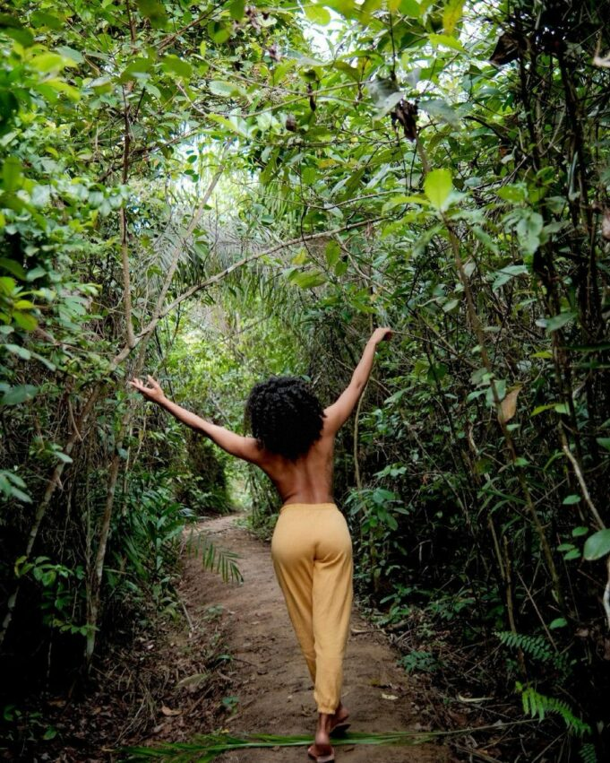 Reality star, Venita Akpofure poses topless in new photos
