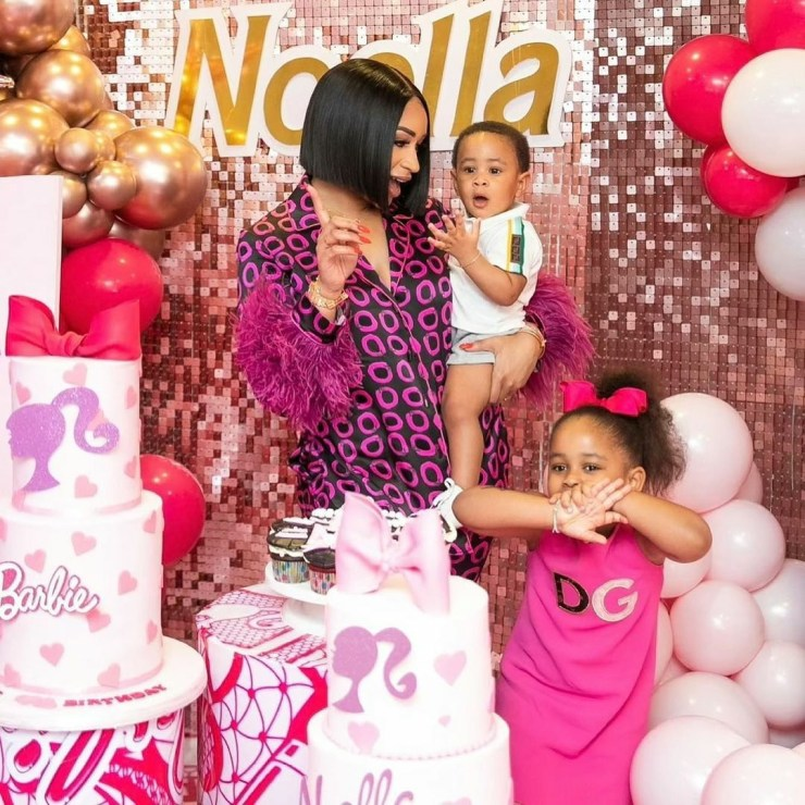 Photos from the 4th birthday celebration of Seyi Tinubu's daughter, Noella