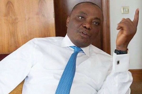 Buhari welcomes into APC senator Nwaoboshi accused of looting NDDC