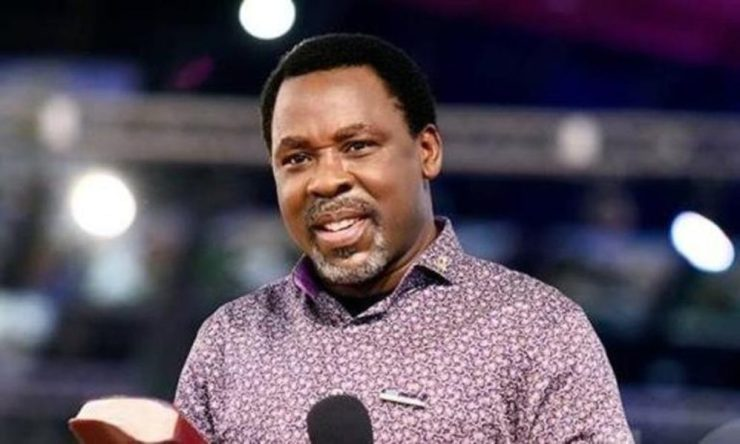 Apostolic Church of Christ mourns T.B. Joshua, says demise divinely