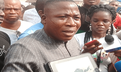 Sunday Igboho storms Igangan over killings