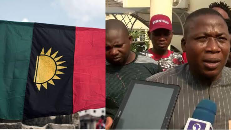 IPOB condemns raid on Sunday Igboho's house