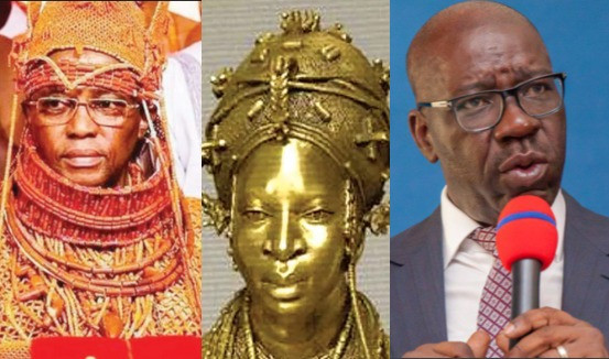 ''They are not the property of the state government''- Oba of Benin kicks against Edo state govt's decision to take custody of 1,130 stolen artefacts to be returned from Germany
