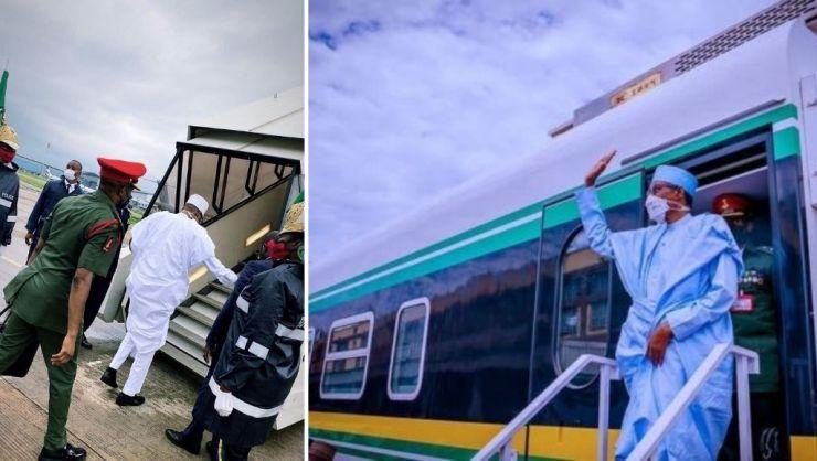 Kano-Kaduna Railway modernization project crucial for economic development-- Buhari