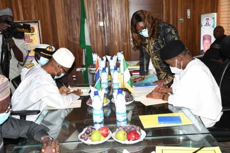 Nigeria partners Gambia for robust military operations