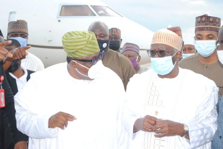 PHOTO NEWS: Crowd welcome Buhari's Chief of Staff back to Ilorin