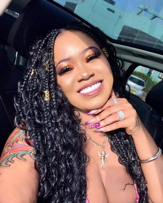 """""""My booty is natural, but my breasts, teeth and skin are fake"""" – Socialite, Vera Sidika reveals"""