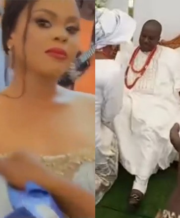 Mercy Aigbe's ex- husband post video of new wife