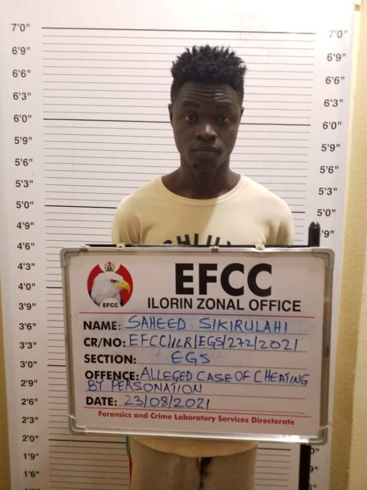 EFCC: See pictures of newly convicted final year students