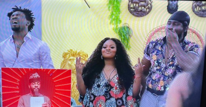 """#BBNaija: """"Boma and I played a script. We are good actors. My husband is a bad guy. He'll understand"""" – Tega tells Ebuka after her eviction"""