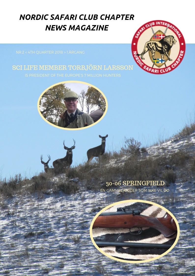 NORDIC SAFARI CLUB CHAPTER NEWSLETTER 4TH QUARTER 2018
