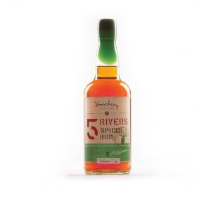 Hoochery Distillery, 5 Rivers Spiced Rum