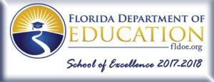 FLDOE School of Excellence 2017-2018