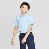 boy wearing uniform