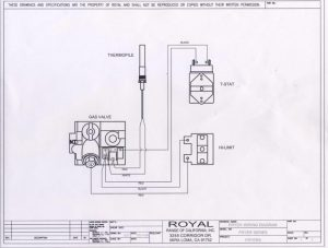 Wiring Diagrams  Royal Range of California