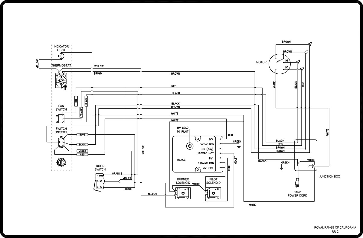 Deep Fryer Wiring Diagram