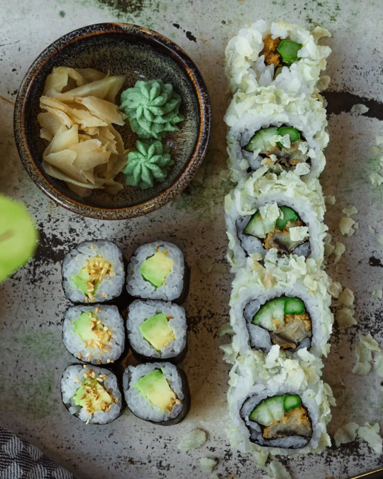 100% veganes Sushi im Royals and Rice Berlin