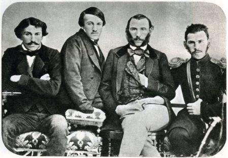 Sergei, Nikolai, Dmitry and Leo