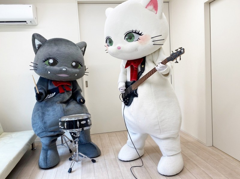 Buinyasu & Yaminyasu, the visual kei cats