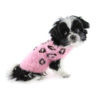 Eden-feathersoft-cheetah-pink-sweater-Hip-Doggie