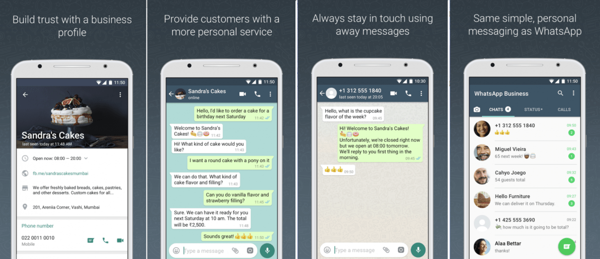 WhatsApp launches a separate app for small businesses, WhatsApp inches closer to revenue plan with accounts for Business, WhatsApp adds notification channels on Android Oreo 8.0 so you can now choose what to do with each notification type