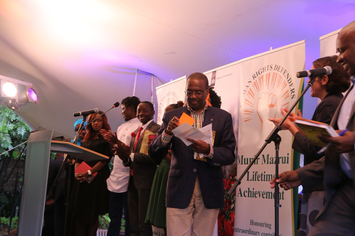 Third Edition Of Kenyan Human Rights Defenders Awards 2018