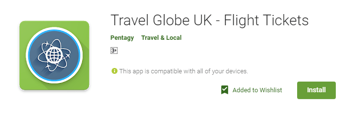 Travel Globe UK mobile app is built from the ground up with travelers in mind. The app lets you compare airfares from hundreds of airlines and travel agencies, all with the aim of delivering you the perfect deals directly to your smartphone, tablet or other mobile device.