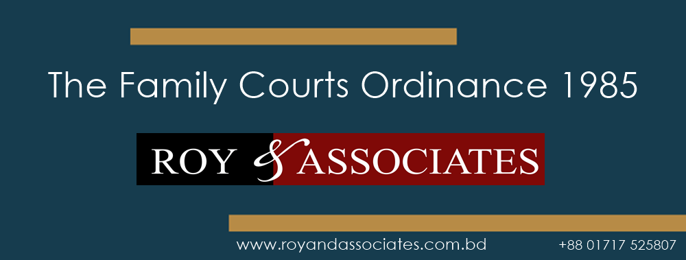 The Family Courts Ordinance 1985
