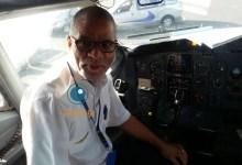 """صورة (الكابتن دحمودي) الطيار الذي تحدث عنه الرئيس الأمريكي وظلم في حكم """"عزيز"""""""