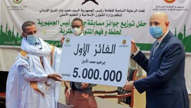 صورة مدرس بالحرم النبوي يشيد بجائزة رئيس الجمهورية لحفظ وفهم المتون المحظرية