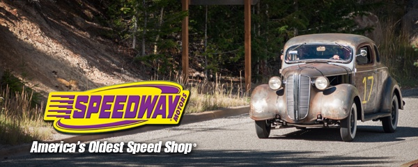 This post of the Hot Rod Hill Climb is brought to you by Speedway Motors. Thank you Speedway for making this coverage possible. Visit the the Speedway Motors site here, on Facebook here or on Twitter here.