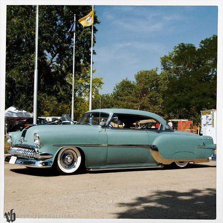 This 54 Pontiac is always good to see at shows across the region.