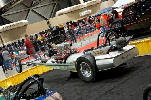 1962 Cadillac Front Engine Dragster