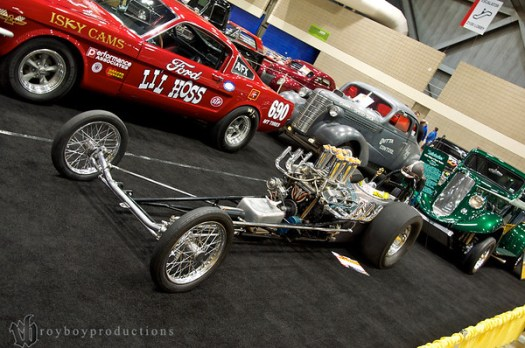 1964 Dodge Front Engine DragsterInjected Alcohol Dodge Wedge