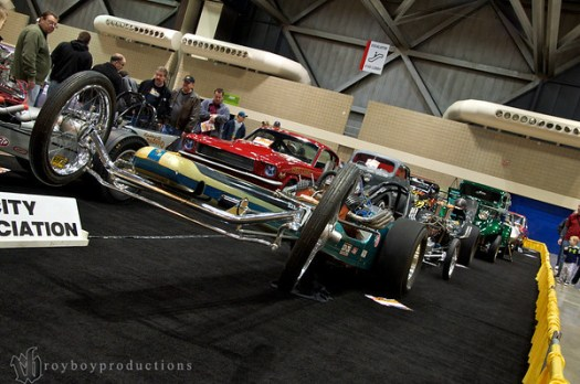 1964 Front Engine DragsterInjected Alcohol