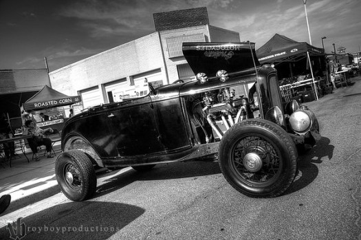 2013 Automobilia Moonlight Car Show 12_3_4_BW_HDR