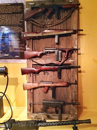 More examples of guns used in WWII