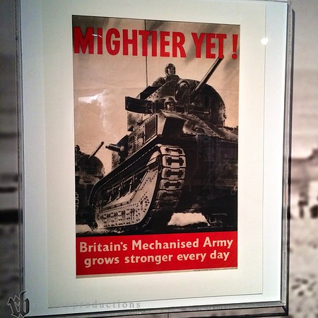 Some great propaganda posters are in the collection.