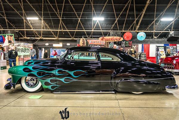 2017; GNRS; Friday; 199; 1950; CA; California; Chevy; Deluxe; Grand National Roadster Show; Johnny DeLaRosa; Pomona; Styleline; chevrolet 1950 Chevrolet Styleline Deluxe owned by Johnny DeLaRosa