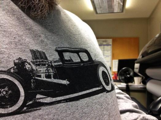 New Model A Stencil shirt
