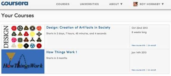 free university course