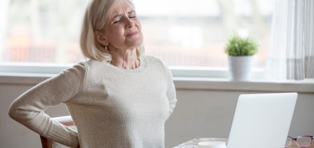 A pain that could be a sign of lung cancer