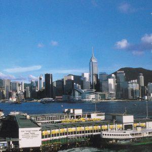 [Postcard] Hong Kong by Day