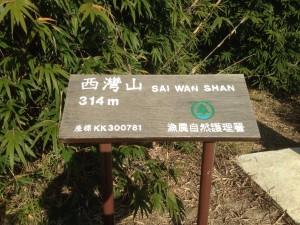 Sai Wan Shan (314m)