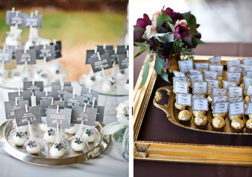 5 Place Card Ideas Fit For Your Themed Wedding