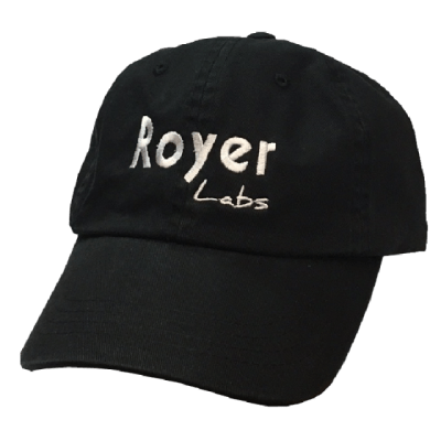 Royer Black Ballcap