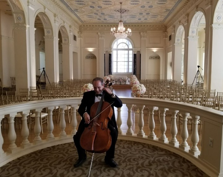 Atlanta Wedding Cellist Performing Ceremony Music